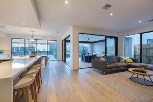 grey oak floorboards